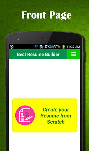 Best Resume Builder