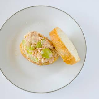 Grape and Hummus Tuna Salad Sandwich.