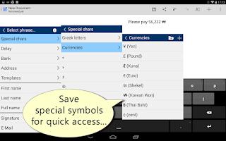 Screenshot of Autotext PhraseExpress