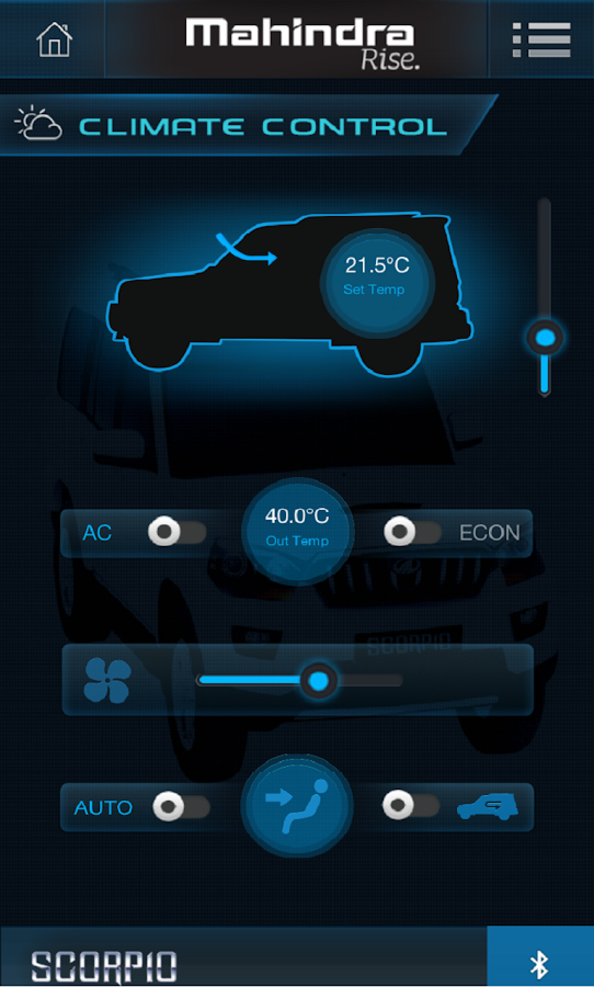 MAHINDRA SCORPIO BLUE SENSE- screenshot