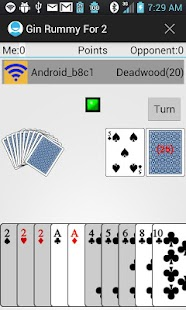 Gin Rummy For 2- screenshot thumbnail