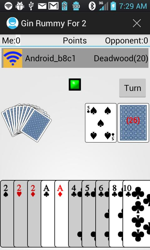 Gin Rummy For 2- screenshot