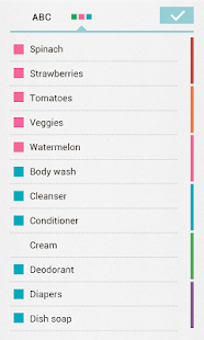 Buy Me a Pie! Grocery List Pro - screenshot thumbnail