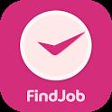 파인드잡 여성 시간제 일자리 채용관 icon