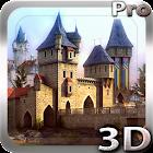 Castle 3D Pro live wallpaper icon