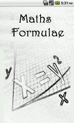 Maths Formulae Free