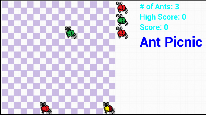 Ant Picnic- screenshot