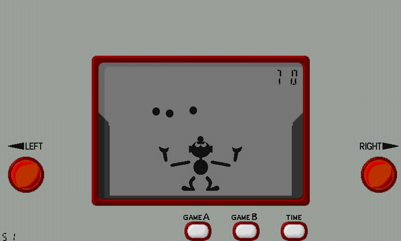 GWB (Game & Watch Ball)- screenshot