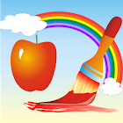 Coloring Book Fruits icon