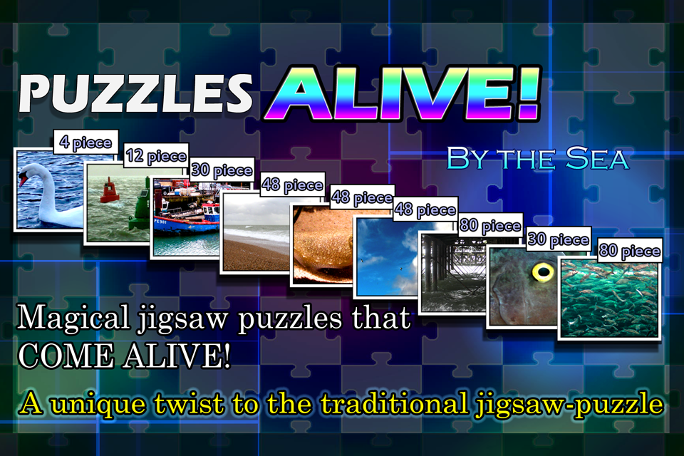 Puzzles ALIVE! By The Sea- screenshot