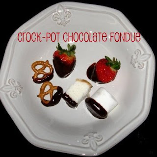 Crock-Pot Chocolate Fondue