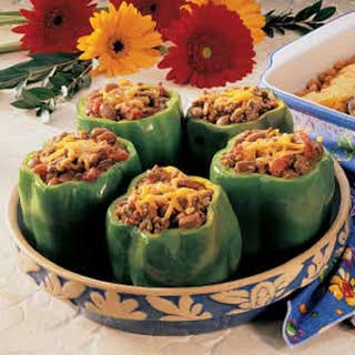 Chili-Stuffed Peppers.