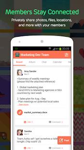 BAND -Group sharing & planning - screenshot thumbnail
