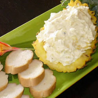 World's Best Cream Cheese and Pineapple Dip.