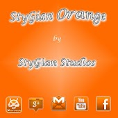ADW theme Stygian Orange