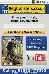 Number Plates Search- screenshot thumbnail