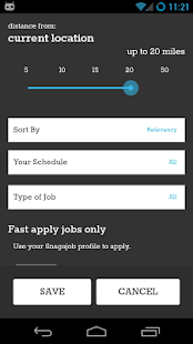 Job Search - Snagajob - screenshot thumbnail