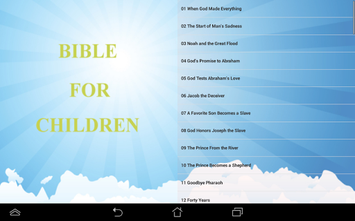 Bible Book For Children