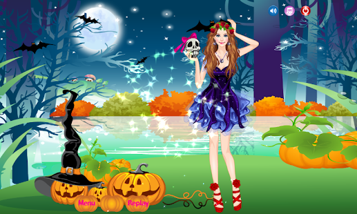 Beautiful Witch Dress Up Games