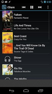 rShare for Google Play Music - screenshot thumbnail