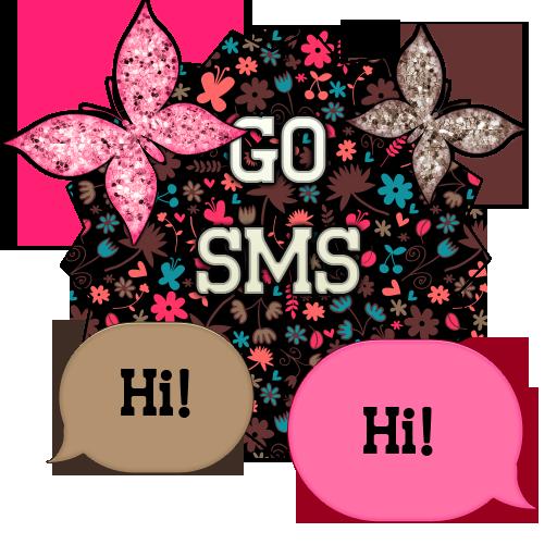GO SMS - Butterflies 11 LOGO-APP點子