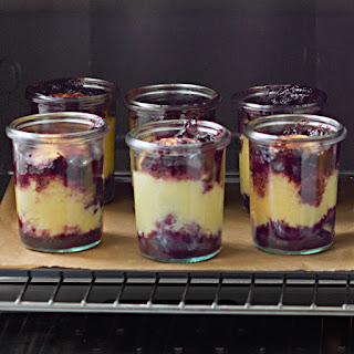 Individual Blueberry-Lemon Cakes