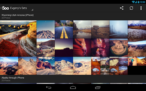 500px – Discover great photos Screenshot 32