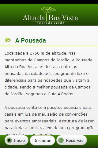 【免費旅遊App】Pousada Alto da Boa Vista-APP點子