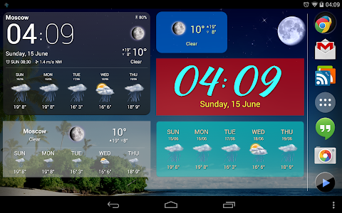 Weather Now Forecast & Widgets v3.1.0