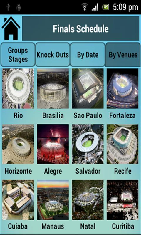 Brazil 2014 World Cup- screenshot