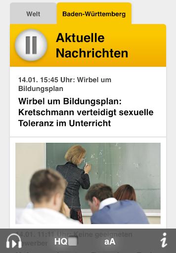 【免費媒體與影片App】SWR1 Baden-Württemberg Radio-APP點子