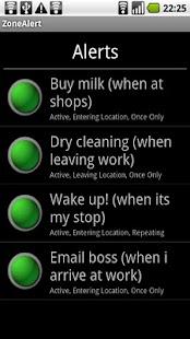 Maptastic Reminders Lite- screenshot thumbnail