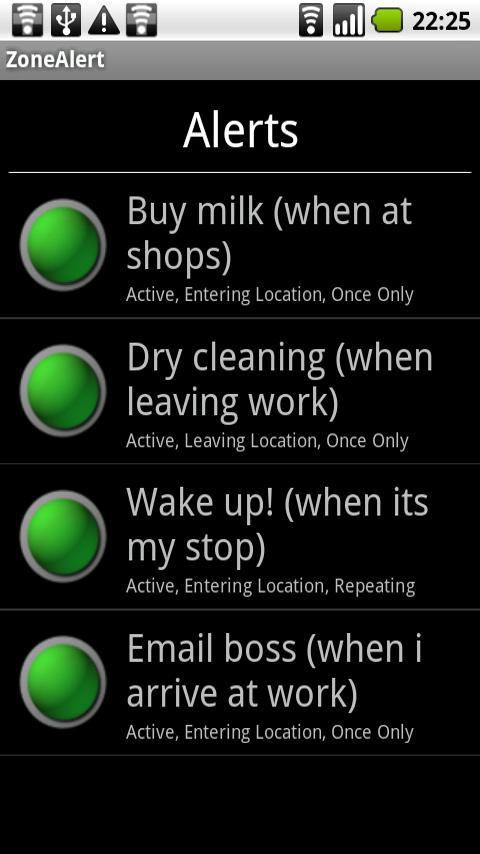Maptastic Reminders Lite- screenshot