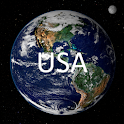Geography Quiz – USA logo