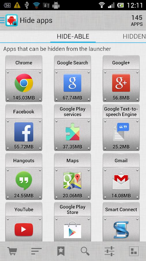 AppMgr Pro III (App 2 SD) - screenshot