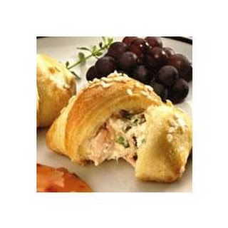 Crab-Filled Crescent Snacks.