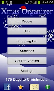 Xmas Organizer - screenshot thumbnail