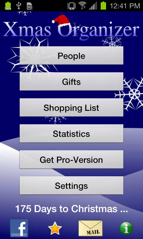 Xmas Organizer - screenshot