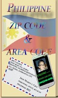 Screenshot of Philippine ZipCode & AreaCode
