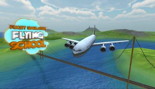 Plane Flight Simulator School