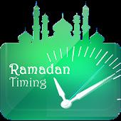 Sehr-o-Iftaar Timetable