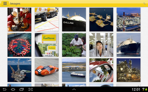 Shell Investor & Media - screenshot thumbnail