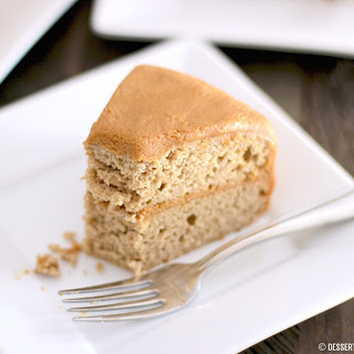 Healthy Gluten Free Maple Cake (made low fat & refined sugar free!).