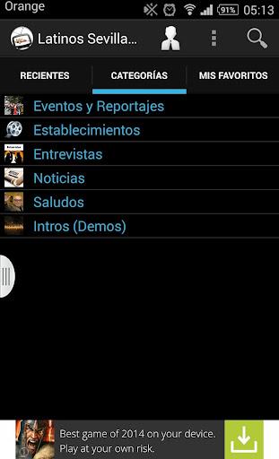 【免費媒體與影片App】Sevilla Latina  TV-APP點子