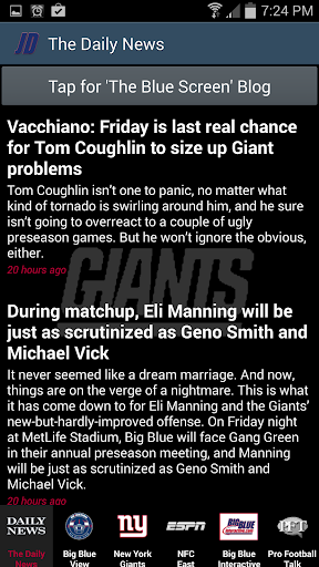 New York Giants News By JD