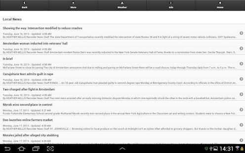 Amsterdam Recorder (Tablet)- screenshot thumbnail