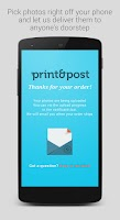 Screenshot of Print&Post - Print your photos