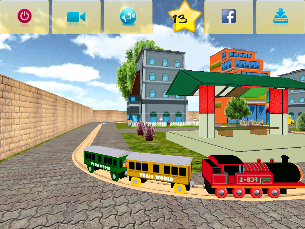 Train World Builder- screenshot