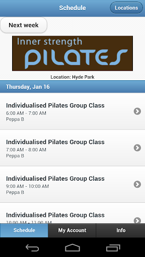 Inner Strength Pilates Barre