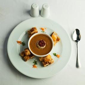 Soup & Spoon by Ahmet Güler - Food & Drink Plated Food ( soup & spoon, kitchen utensil, silverware, cutlery, Food & Beverage, meal, Eat & Drink )